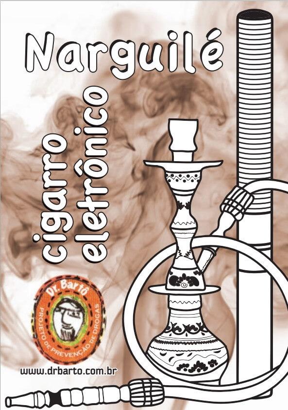 capa do livreto 'dr bartô: narguile, cigarro eletrônico'