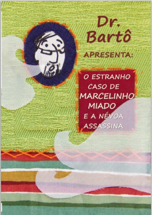 capa livreto dr barto o estranho caso de marcelinho miado